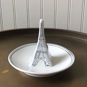 ANTHROPOLOGIE MOLLY HATCH EIFFEL TOWER RING DISH